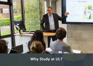 Why Study at UL? Link