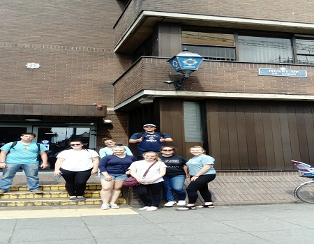 Summer School Visit to Henry Street Garda Station