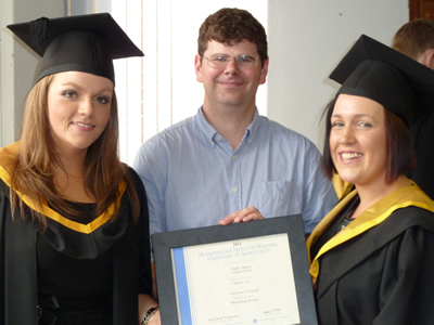 Grainne Kirby, Dr William Lee and Niamh Delaney
