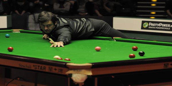 "Ronnie O'Sullivan The image is credited with ""DerHexer, Wikimedia Commons, CC-by-sa 4.0"""