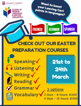 Check out our Easter Preparation Courses