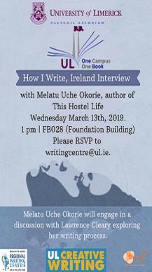How I Write, Ireland