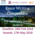 National Secondary School Essay Competition 2017/18