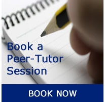 Book a Session with a Peer Tutor
