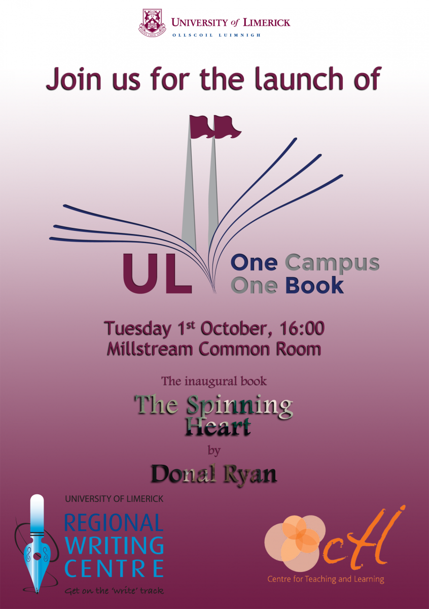 One Campus One Book Launch