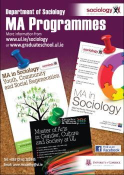 3 MAs in Sociology poster