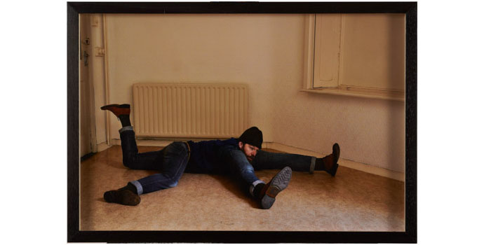 Liam O'Callaghan - The Rise and Fall of a Man Kinda. (P.2), 2012. Photography - archival fine art pigment print 56 x 37.5cm, NSPCI.2012.483