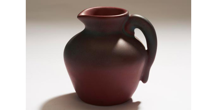 CR18 IACI.2002.262 F. Z. Original Briggle Pitcher United States 6.9 x 6.8 x 6.2 cms Ceramic