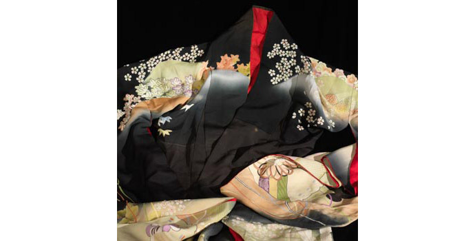 Bridal Kimono (Detail), Japan - Dyed silk - 2004.016/CO11
