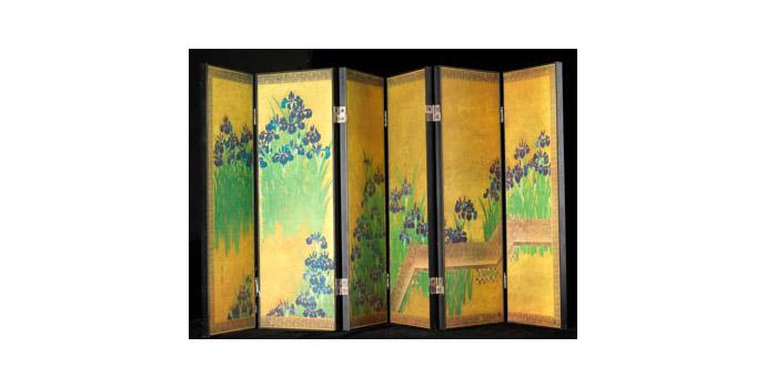 Screen, Japan - After Hoitsu Sakai (1761-1828) - 2002.027/PA193
