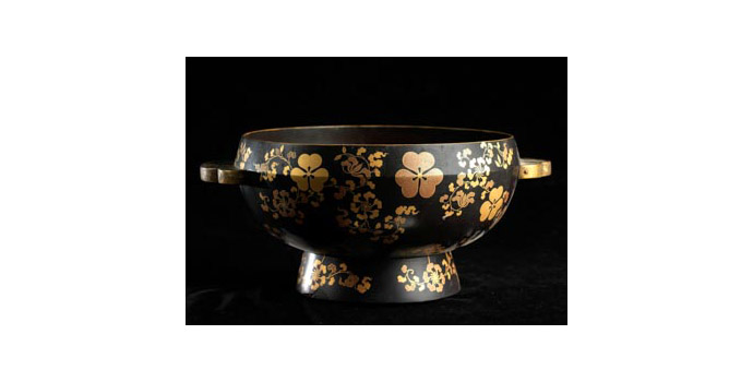 Bowl, Japan - Lacquer finish - 2002.088/CRM89