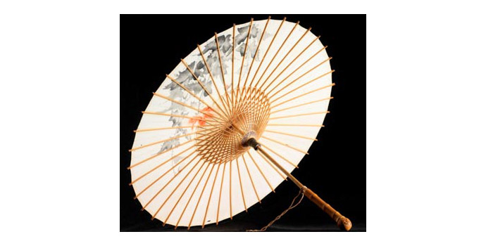 Parasol, Japan - Bamboo and Silk - 2004.009/C014