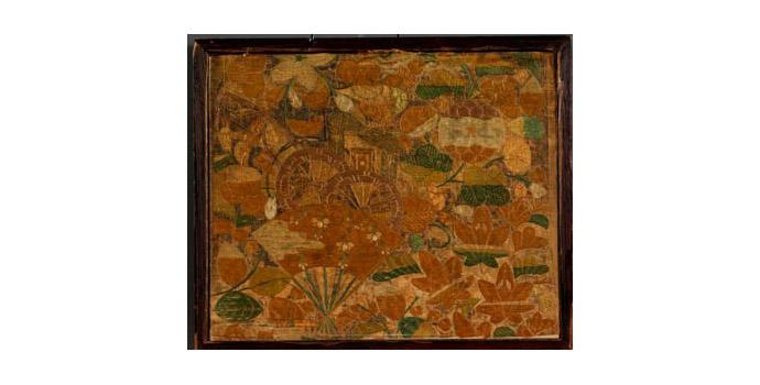 Framed Textile, Japan - 2004.038/T43