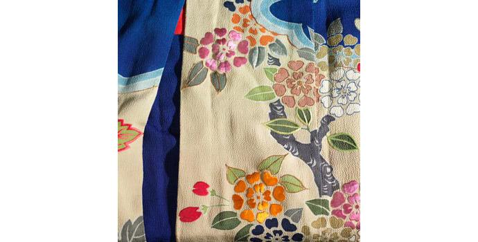 Bridal Kimono (detail), Japan - Dyed silk - 2004.052/CO10