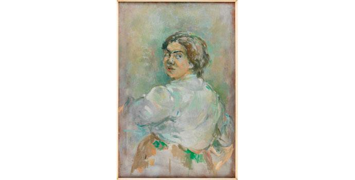 Stella Steyn (1907-1987), Untitled. Oil on canvas 89 x 61cm, NSPCI.2008.429.