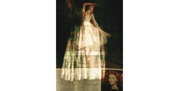 Ruth McHugh, Self Portrait, 2012. Lambda print on Dibond, artists proof 29.8 x 21.9 cm, NSPCI.2012.468.