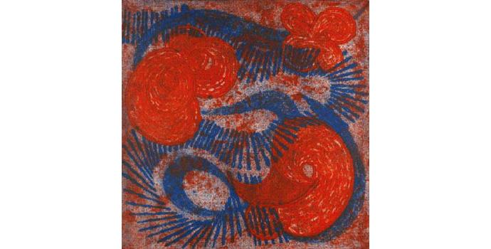 Gavin Hogg, Beethoven : Piano Concerto 'Emperor' 3rd Movement (Rondo) , 2009,  Collograph, 42 x 42 cm