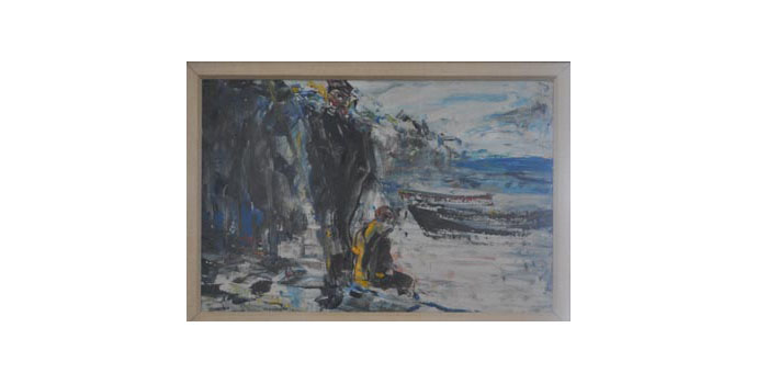 Jack B Yeats (1871-1957) Clear Water, 1936 oil on canvas 34 x 52 cm IACI