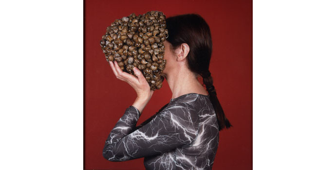 Alice Maher ARHA, Helmet, 2003. Lambda print 61 x 61cm, NSPCI.2010.443.