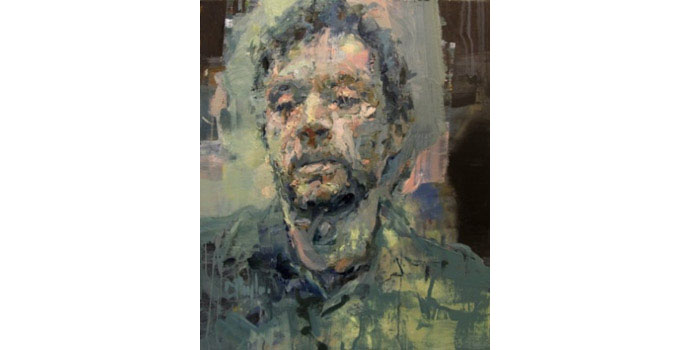 Cian McLoughlin - Self-Portrait Oil on Canvas 61 x 51cm, NSPCI.2014.491.